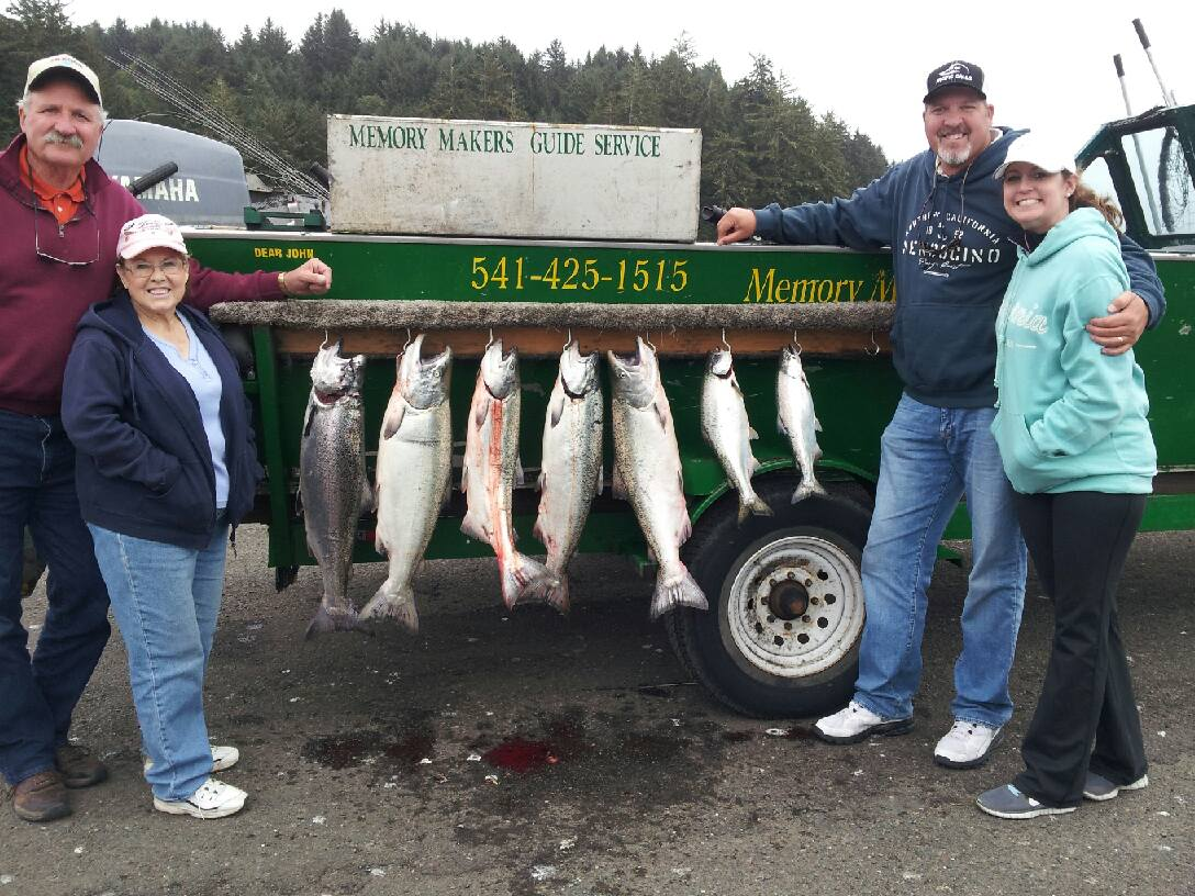 3 days 3 river special fishing report day two memory for Coos bay fishing