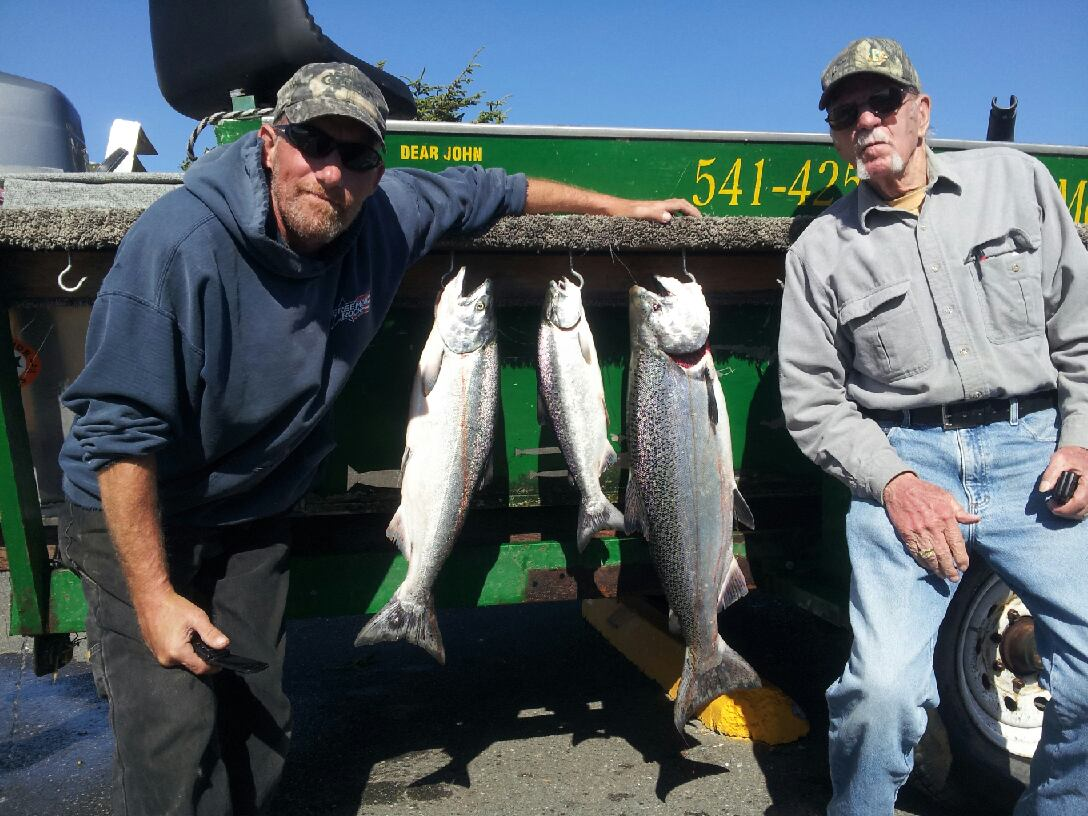 Fishing report for july 17 2014 memory makers rogue for Oregon coast fishing report