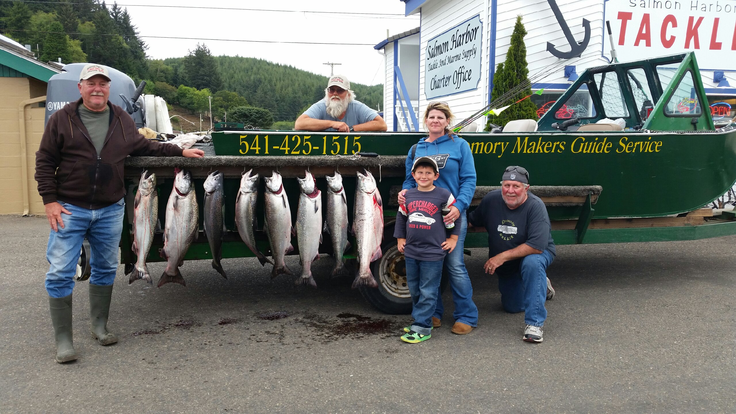 Fishing report for august 11 2015 memory makers rogue for Fishing report oregon coast