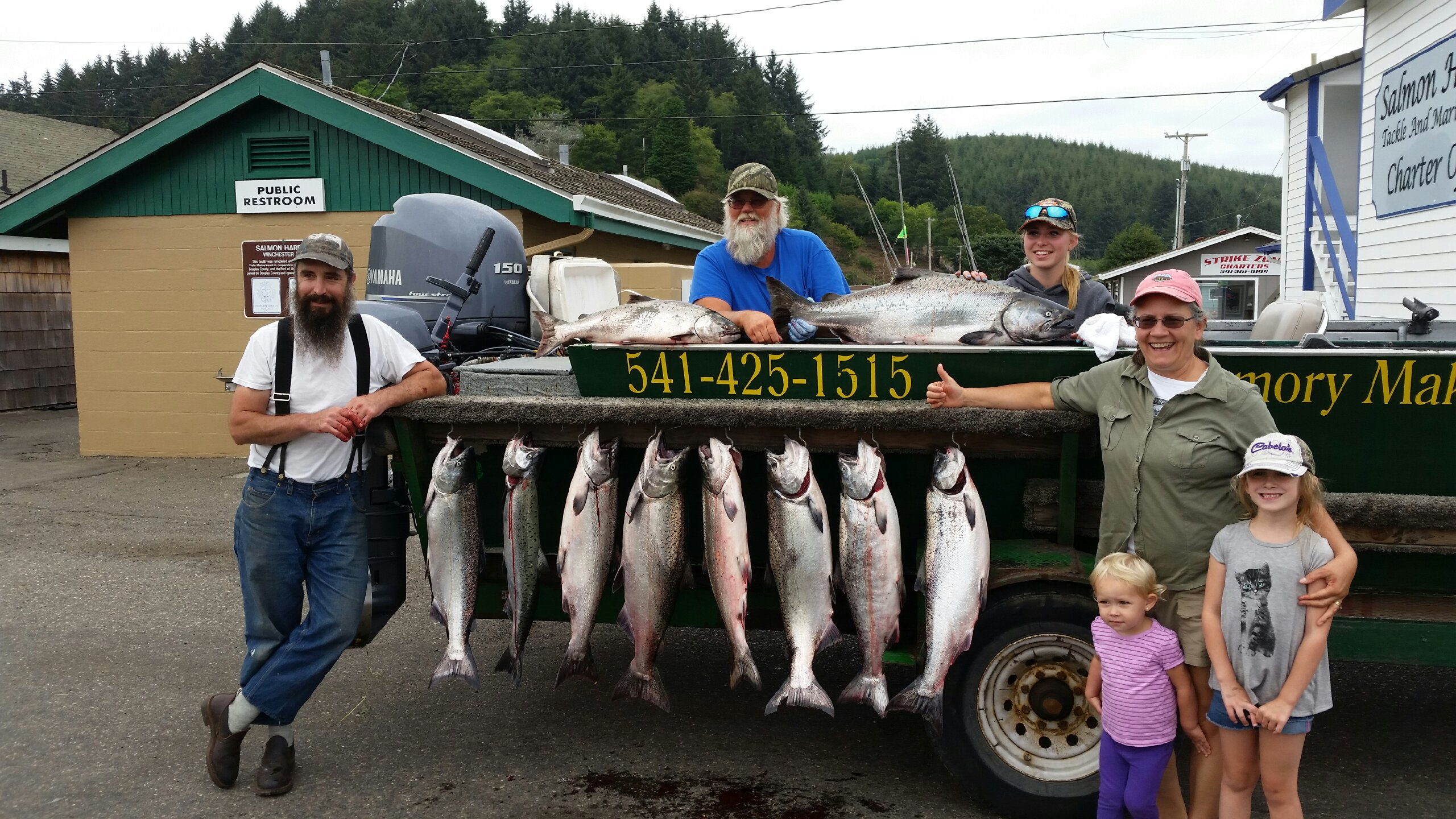 Fishing report for august 13 2015 memory makers rogue for Fishing report oregon coast