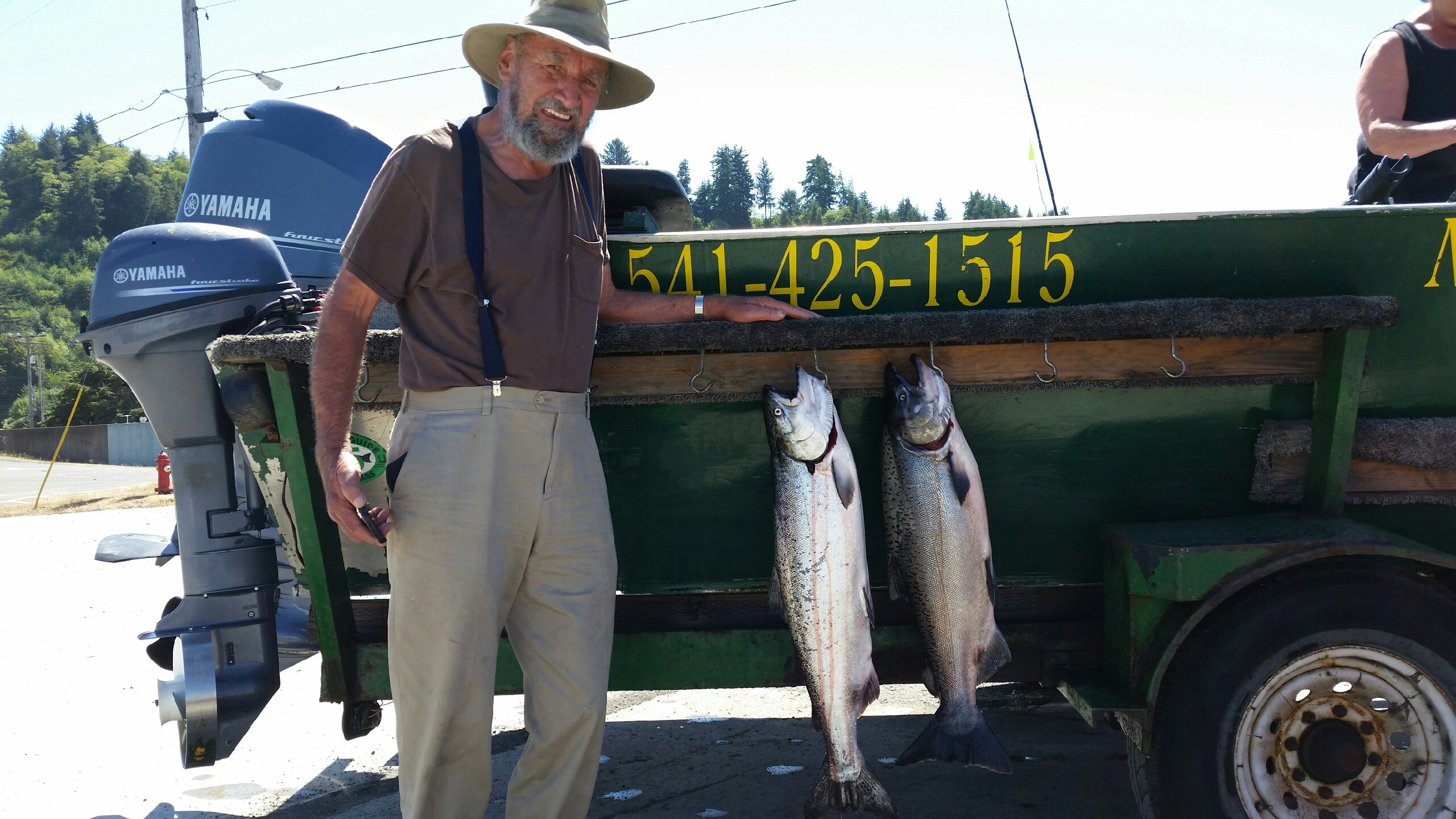 Fishing report for august 21 2015 memory makers rogue for Oregon coast fishing report
